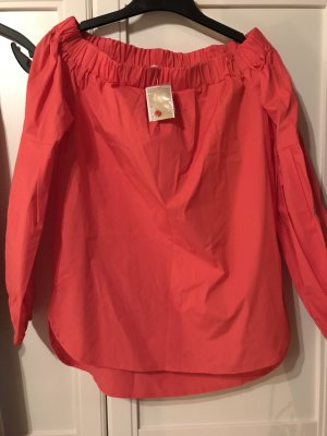Michael Kors Carmen Blouse bright red mixture fibre