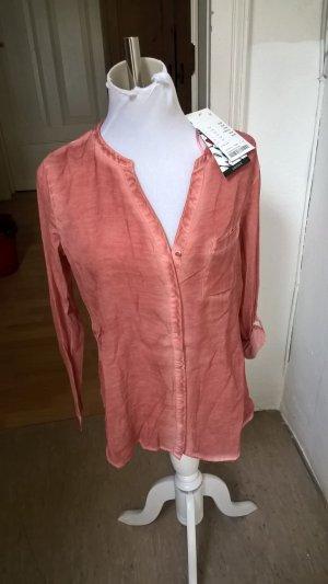 Neue Charles Vögele Sommer Damen Bluse in Rosa Gr. 36