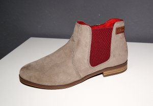 Neue Chelsea Boots in Taupe