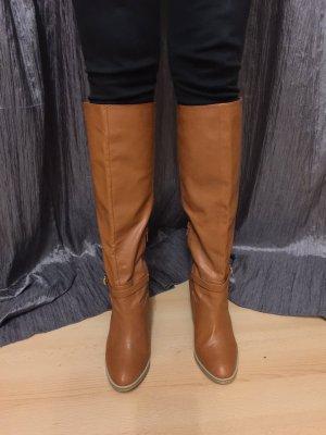 H&M Jackboots brown