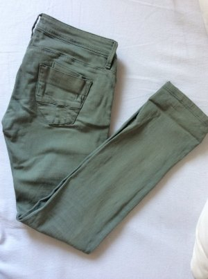 NEUE Conleys Hüft-Jeans in hellem olivgrün, gerades Bein