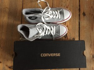 Neue Converse All Star Chucks - grau sweat limited edition