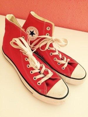 Neue Converse All Star Chucks in rot