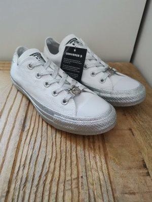22def57e795b3e Converse Lace-Up Sneaker white-silver-colored