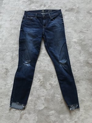 7 For All Mankind Vaquero skinny azul aciano-azul acero