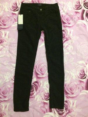 Armani Jeans Pantalone di velluto a coste blu scuro