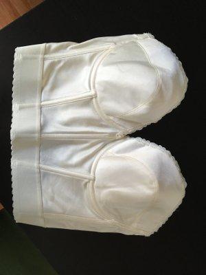 Neue Corsage POIRIER tiefer Rücken ivory Gr. 85D
