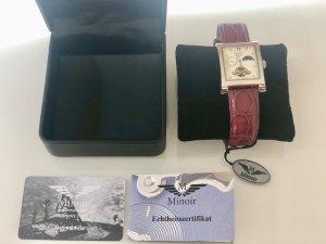 "NEUE Damen Armbanduhr von ""Minoir"" Modell T22455-88 Automatik"