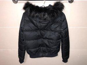 Zara Trafaluc Bomber Jacket dark blue