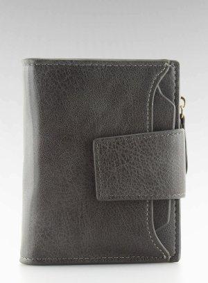 NEUE Damen Leder Geldbörse Portemonnaie Brieftasche PF-0-153 Geldtasche Geldbeutel Portmonee Börse grau toll zu meinen Taschen die ich verkaufe ( tolles Weihnachtsgeschenk)