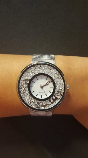 Watch silver-colored