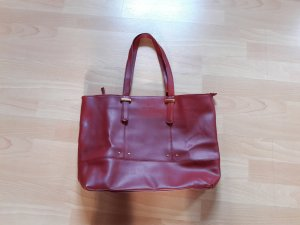 Daniel Hechter Carry Bag dark red imitation leather
