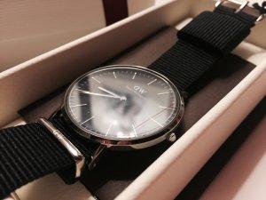Neue Daniel welllington Armband Uhr schwarz 40mm