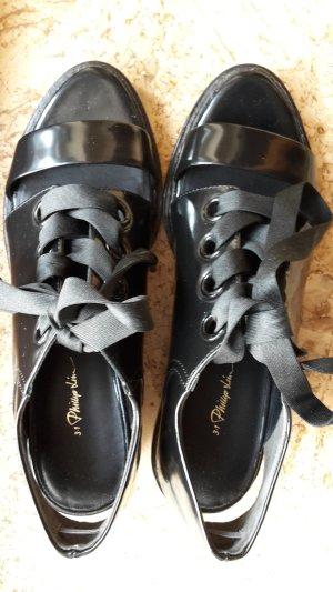 3.1 Phillip Lim Lace Shoes black