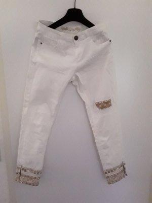 Desigual Jeans a 7/8 multicolore Cotone