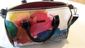 Neue Desigual Tasche Bowling Painter/Stroker,weiß