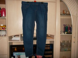 Jeggings blu scuro