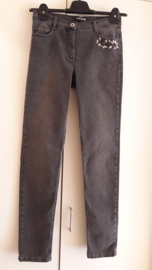Betty Barclay Stretch jeans antraciet Katoen