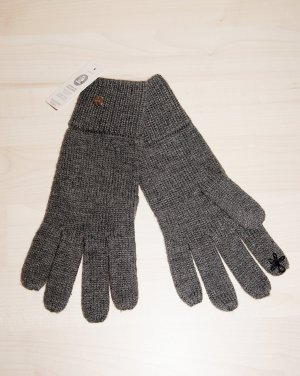 Esprit Knitted Gloves dark grey polyacrylic