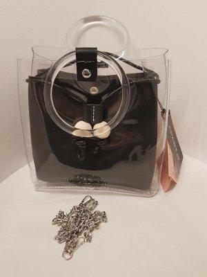 Apart Handbag black-white