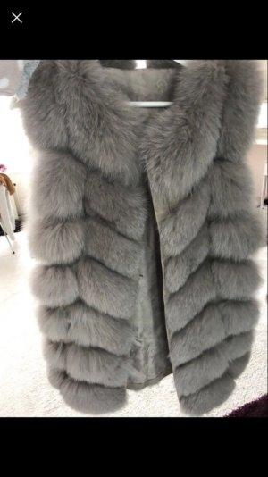 Neue echt Fell Weste real fur vest