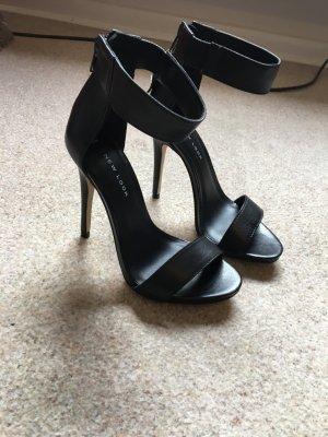 neue echt Leder High Heels von New Look