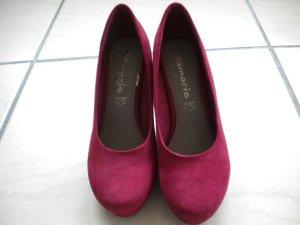 Neue Echtleder Schuhe von Tamaris, Gr. 37