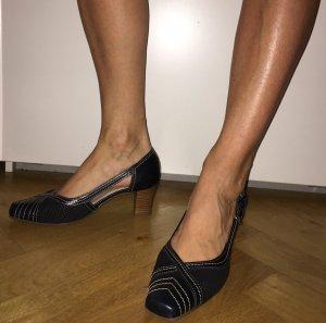 Zapatos estilo Richelieu multicolor