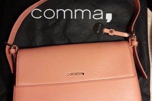 NEUE elegante lachsfarbene Tasche von Comma