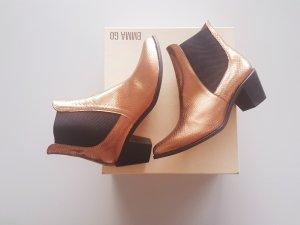 Low boot multicolore cuir