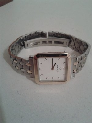 Eterna Watch With Metal Strap silver-colored-gold-colored