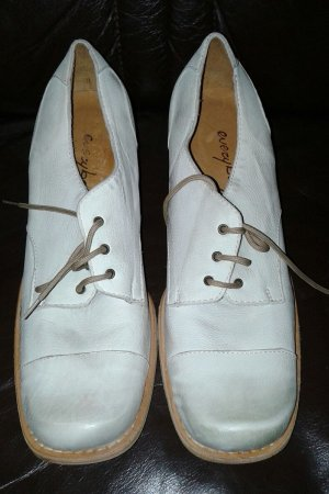 sneakers for cheap d8ca8 2561c NEUE !!!! EVERYBODY DANDY SCHNÜR SCHUHE SOHLE LEDER GENAGELT !!! INNEN  LEDER;AUßEN LEDER