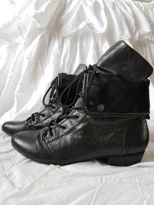 Tally Weijl Bottes à lacets noir