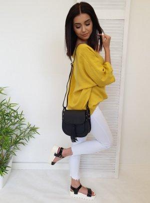 Blusa ancha amarillo