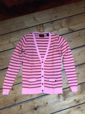 Maison Scotch Knitted Vest apricot-pink