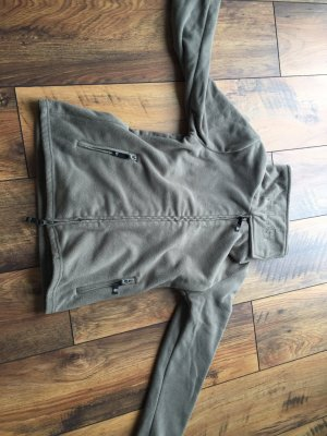 FlashLights Fleece Jackets green grey-khaki