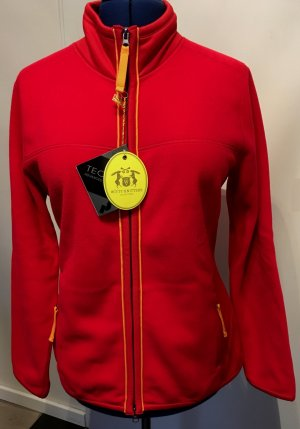 Witty Knitters Fleece Jackets red polyester