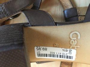 Gabor Comfortabele sandalen lichtbruin Leer