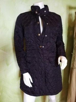 Gant Chaqueta larga negro Algodón