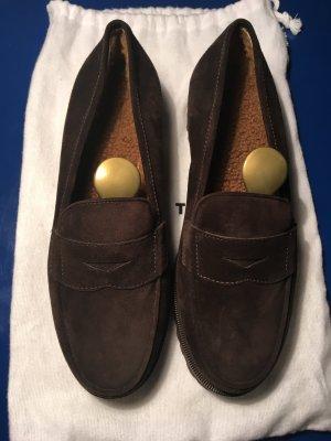 Neue, gefütterte Wildleder-Loafer von Unützer