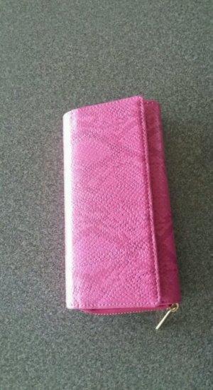 Neue Geldbörse / Geldtasche in Pink