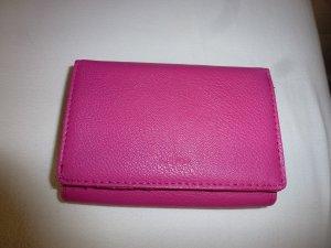 Carpisa Wallet raspberry-red imitation leather