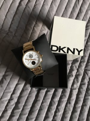 DKNY Watch gold-colored stainless steel