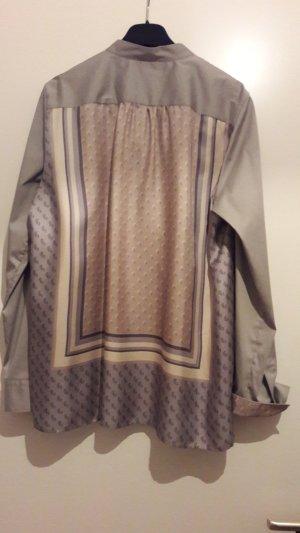 Neue, grau-beige Bluse, von Caliban, Gr44,