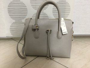 Esprit Carry Bag silver-colored-light grey imitation leather