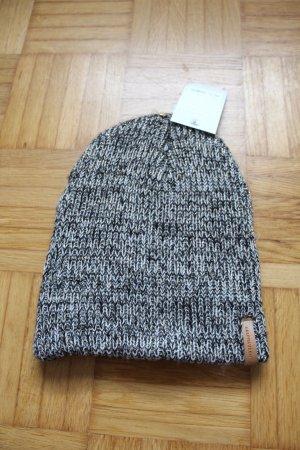 Sombrero de punto color plata-gris