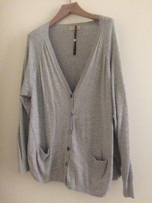 Neue graue Weste von repeat, Größe 42, aus Baumwolle. Neupreis 160 Euro