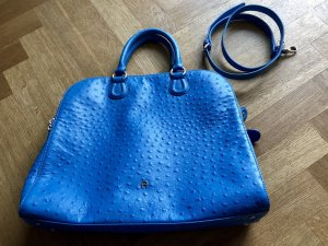 Aigner Carry Bag neon blue