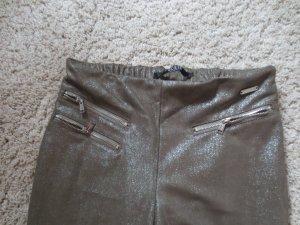 NEUE Guess Jegging in khaki Glitzer, Gr. 27, S, extrem lässig, 2x getragen