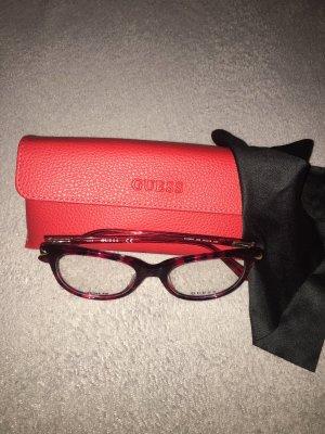 Guess Gafas carmín-rojo oscuro